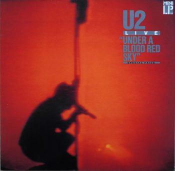 "Виниловая пластинка U2 – Live ""Under A Blood Red Sky"""