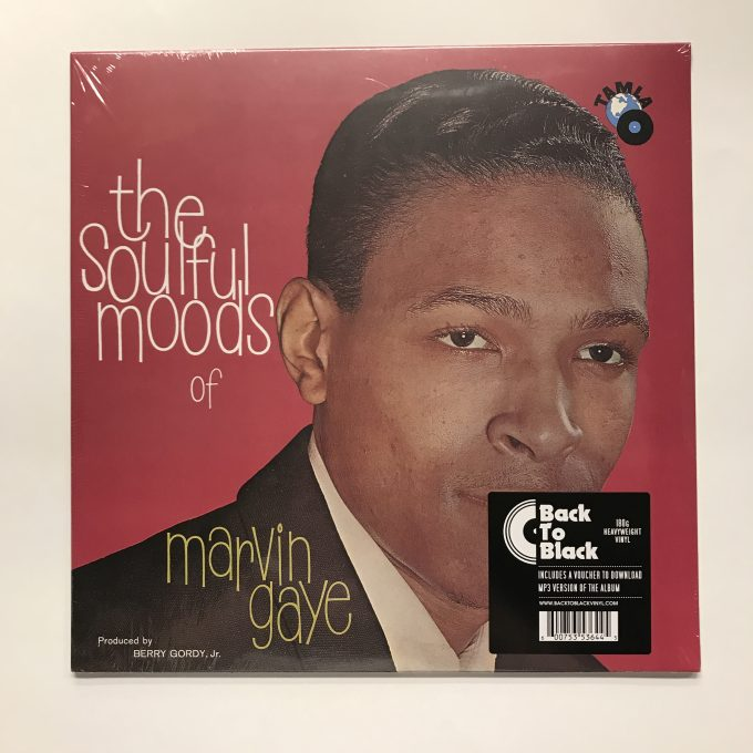 Marvin Gaye ‎– The Soulful Moods Of Marvin Gaye